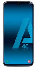 FRONTAL_SAMSUNG_A40_NEGRO